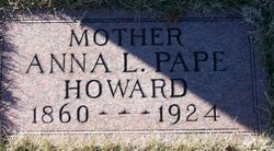 Anna Louise <i>Pape</i> Howard