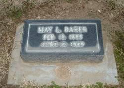 Mrs May Louise <i>Luyster</i> Baker
