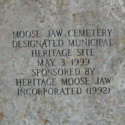 Moose Jaw City Cemetery