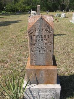 Eliza Ann <i>Gilbert</i> Taylor
