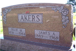 Ollie Mae <i>Campbell</i> Akers