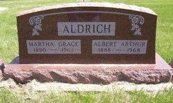 Martha Grace <i>Porter Jordan</i> Aldrich