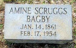 Amine <i>Scruggs</i> Bagby