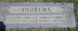 Carrie Edna <i>Boyd</i> Andrews