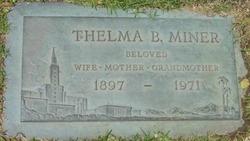 Thelma <i>Brown</i> Miner