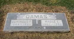 Mable Elizabeth <i>Garcia</i> Damas