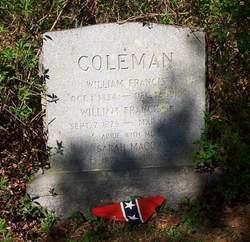 Capt William Francis Coleman