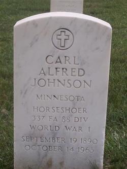 Carl Alfred Johnson