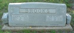 Emily Jane Emma <i>Walton</i> Brooks