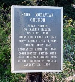 Enon Moravian Cemetery