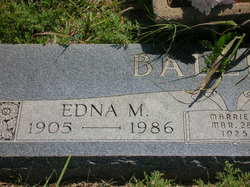 Edna May Balliew