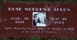 Rose Nordena <i>Carlson</i> Allen
