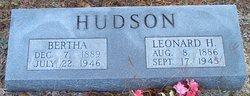 Leonard Hosea Hudson