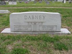 Ada Bell <i>Thomas</i> Dabney
