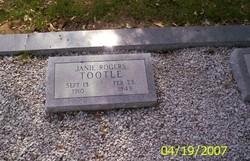 Janie <i>Rogers</i> Tootle