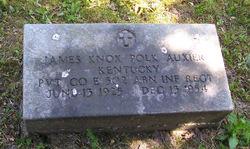 Pvt James Knox Polk Auxier