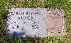 Sarah <i>Brown</i> Auxier