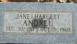 Jane <i>Hargett</i> Andreu