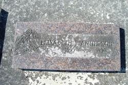 Elisabeth Frances <i>Niles</i> Anderson