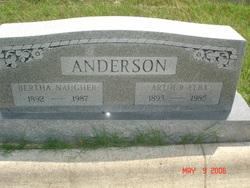 Bertha <i>Naugher</i> Anderson