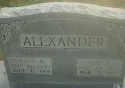 Roy E Alexander