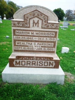Wealtha Chase <i>Parsons</i> Morrison