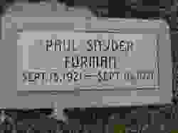 Paul Snyder Forman