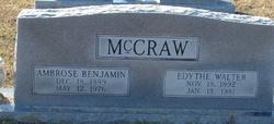 Edythe <i>Walter</i> McCraw