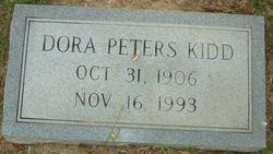 Dora <i>Peters</i> Kidd