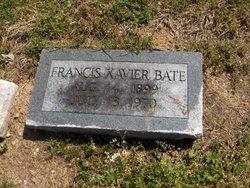 Francis Xavier Bate