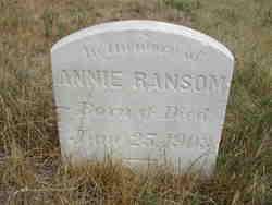 Annie Ransom