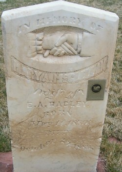 Mary Almeda <i>McClellan</i> Bagley
