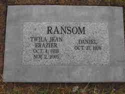 Twila Jean Frazier Ransom