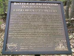 Battle of Richmond Confederate Cemetery