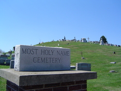 Most Holy Name Of Jesus Cemetery