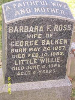 Barbara Fraser <i>Ross</i> Balken