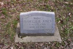 Isabelle E Jones