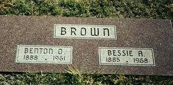 Bessie Anna <i>White</i> Brown