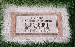 Virginia May <i>Kershaw</i> Blackburn
