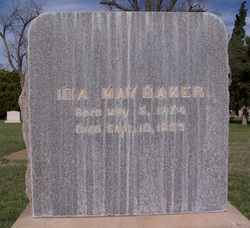 Ida May Baker