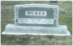 Maude A <i>Gideon</i> Dukes