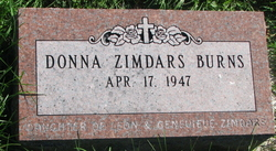 Donna Mae <i>Zimdars</i> Burns