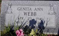 Genita Ann Webb
