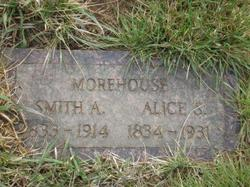 Alice Sophia <i>Wood</i> Morehouse