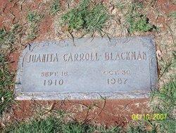 Juanita <i>Carroll</i> Blackman