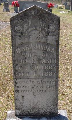 Mary Jane <i>Jordan</i> Cason