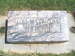 Lois Myrta <i>Jones</i> Couzens