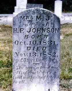 Martha Jane <i>Tucker</i> Johnson