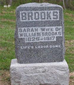 Sarah <i>Carter</i> Brooks
