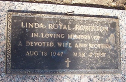 Linda <i>Royal</i> Robinson